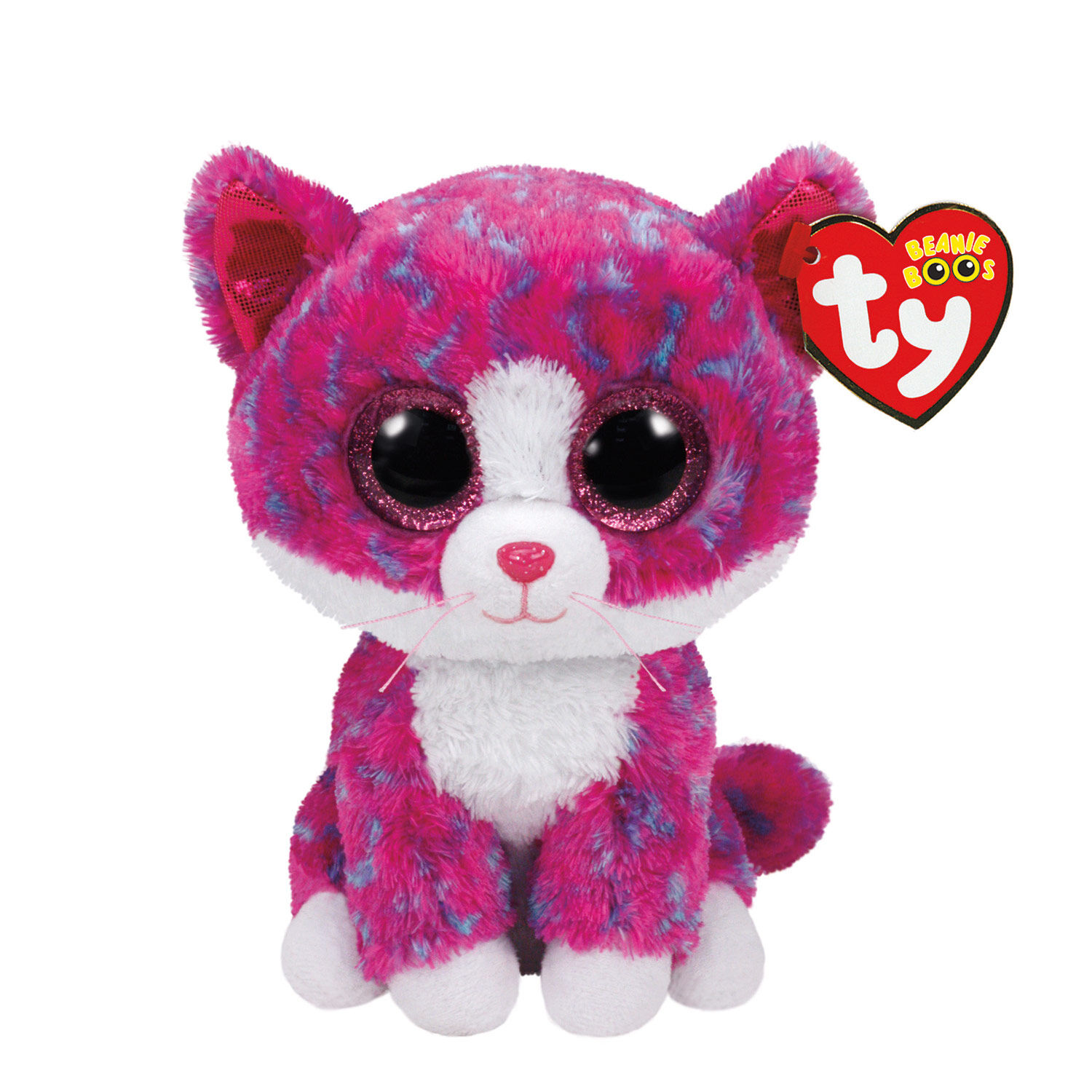TY Beanie Boo Small Charlotte The Cat Soft Toy Claires