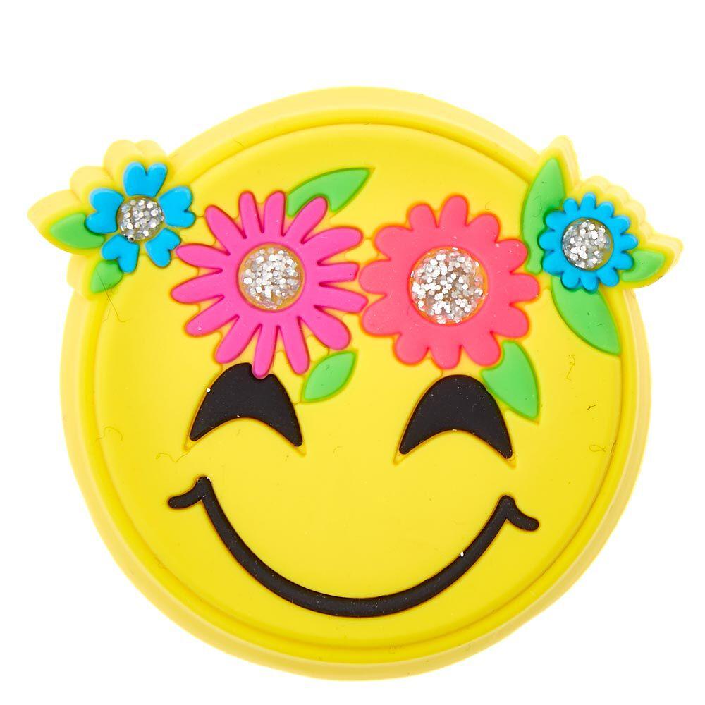 Flower Crown Emoji Lip Gloss Claires US
