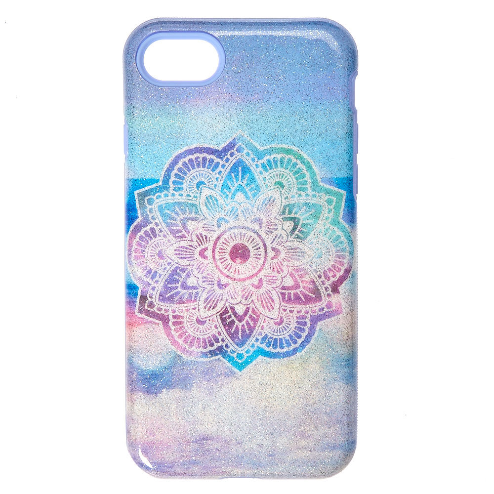 Pastel Shimmer Mandala Protective IPod Touch Case