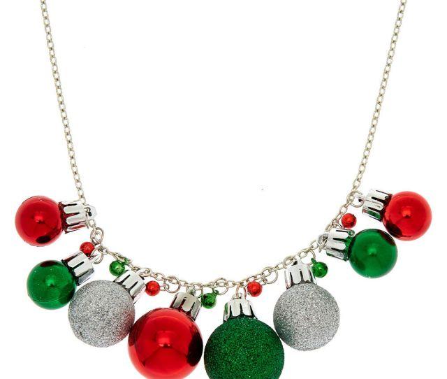 Ornaments Bells Necklace