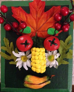 TN-ad.Arcimbolo Food Face Sculpture Relief