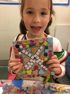 TNPatterns in a mosaic