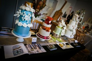 wedding fair display