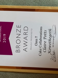 Our Bronze certificate
