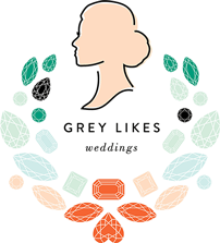 Grey Likes Weddings logo