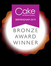 Cake International 2019 bronze
