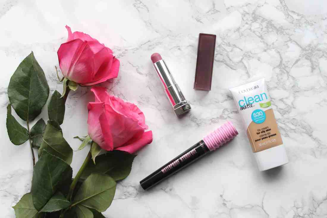 favorite makeup products covergirl clean matte bb cream and covergirl total tease mascara and maybelline color sensationnal lipstick