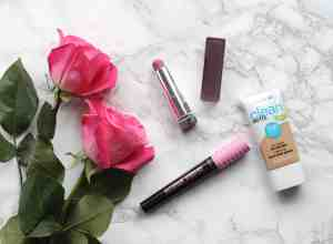 covergirl clean matte bb cream and covergirl total tease mascara and maybelline color sensationnal lipstick