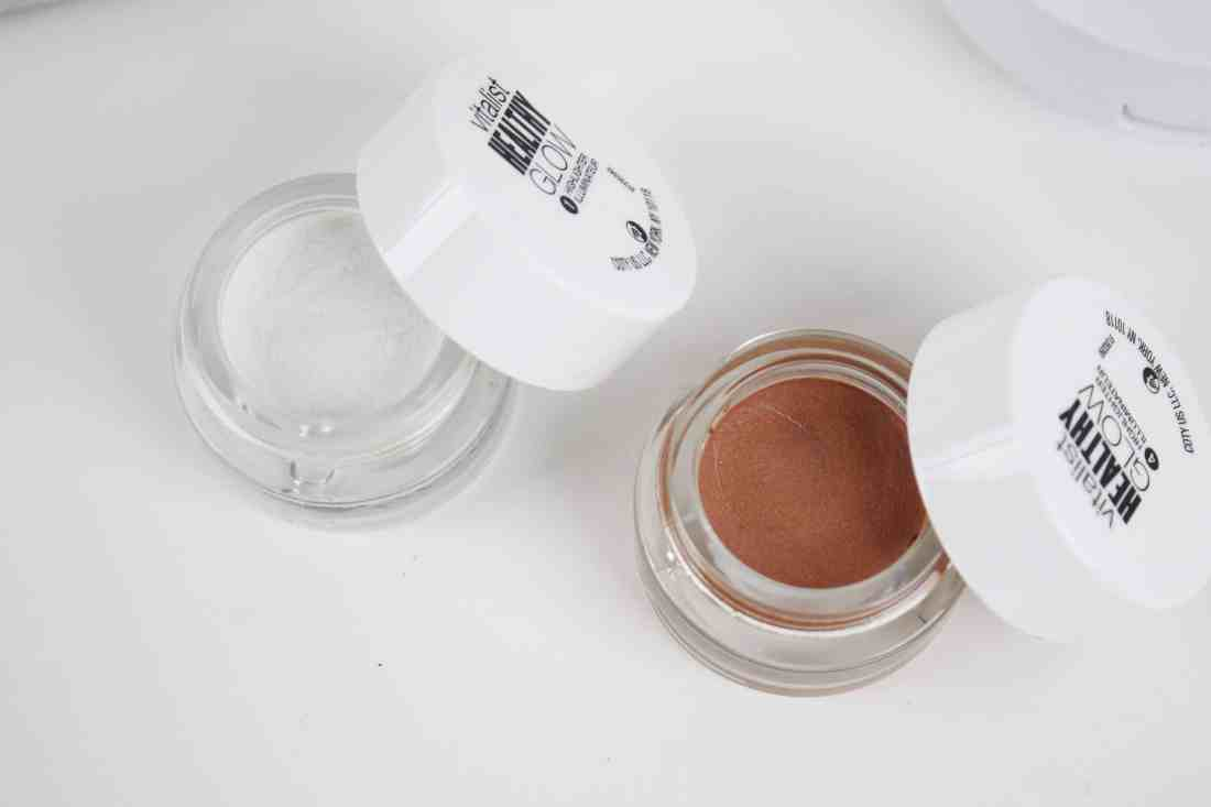 Covergirl Vitalist healthy glow highlighter in Moobeam and Sunkissed