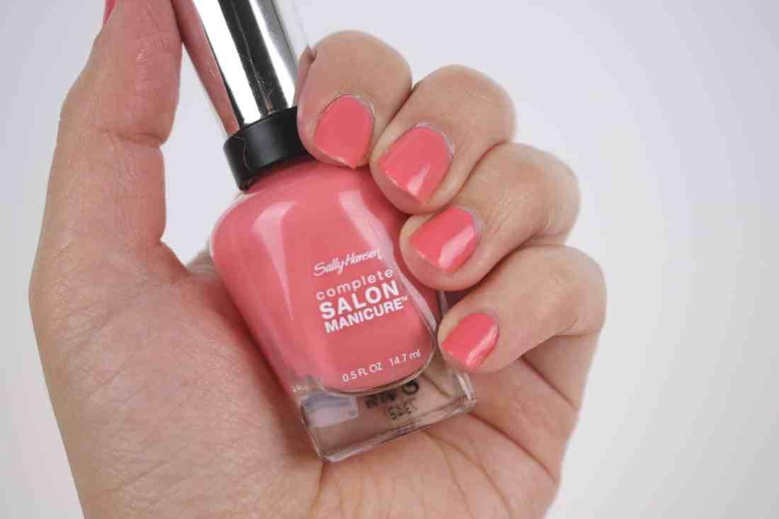 Sally Hansen Complete Salon Manicure in 206 one in a melon