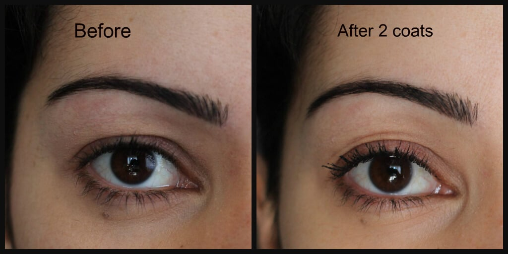 f4528fd4bb6 maybelline SNAPSCARA MASCARA before after