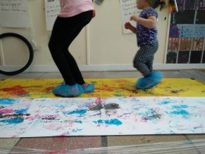 Producer: Family Art Club, Heart of Glass, contemporary art activities in St Mary's Market