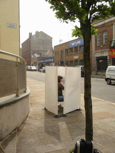 """Arena"" Performance on Duke Street, Liverpool. 11 August 2004, 10.40-11.10am"