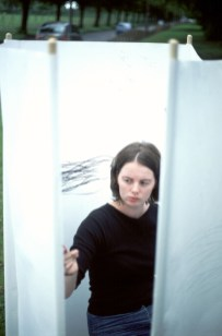"""""""Avenue"""" Performance on Hillfoot Road, Liverpool. 12 August 2004, 13.15-13.45pm"""
