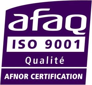 Clairitec est AFAQ ISO 9001