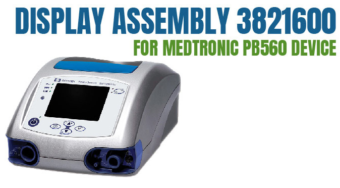 Medtronic PB560 Device Display assembly 3821600