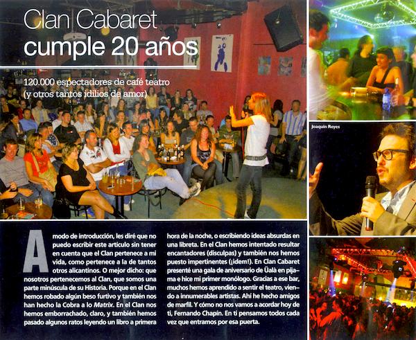 clan cabaret 20 aniversario