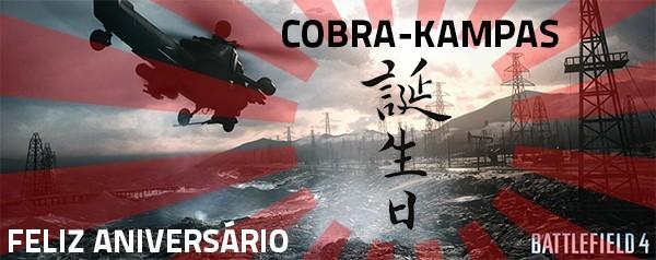 Feliz Aniversário COBRA-KAMPAS