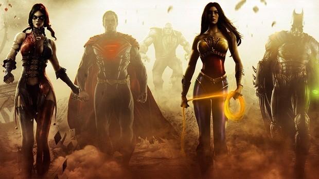 """O recém-lançado """"Injustice: Gods Among Us"""" está entre os mais vendidos de abril"""