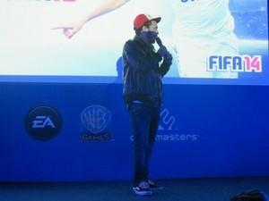 Marcelo D2 participou de evento da Warner Games e afirmou que terá canção em 'Fifa 14'