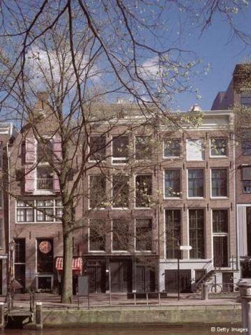 A Casa de Anne Frank em Amsterdã