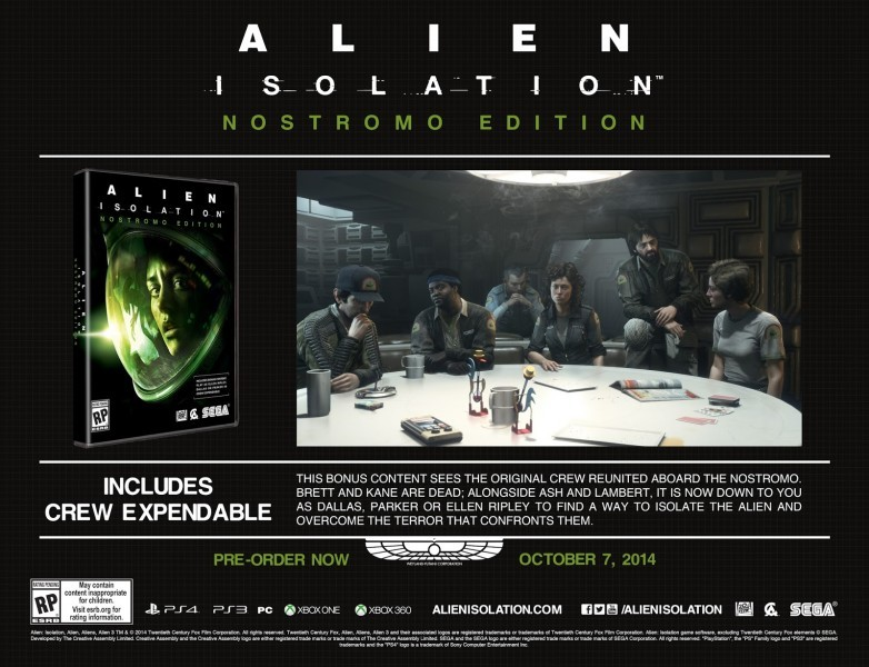 Alien Isolation - Nostromo Edition
