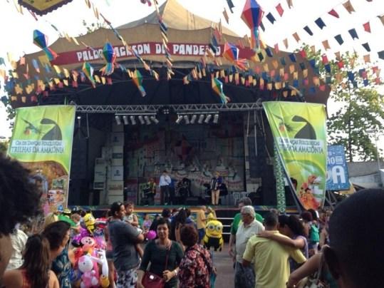 Evento na feira de São Cristovão