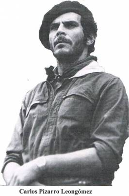 Carlos Pizarro, líder do M19