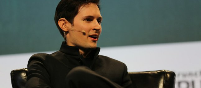 Durov é criador e CEO do Telegram.