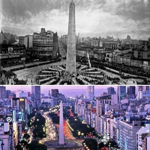 20. Buenos Aires, Argentina 1950 e agora