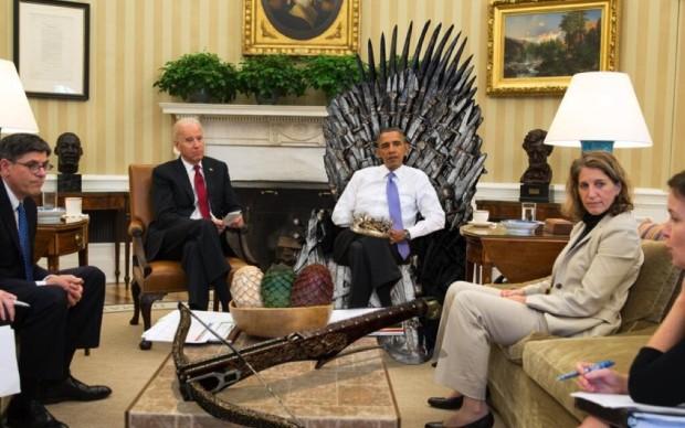 Game of Thrones  Barack Obama
