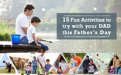 15 fun activities to try with your dad this Father's Day