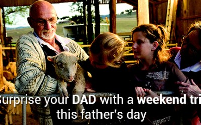 Surprise your dad with a weekend trip this Father's Day – Because every dad deserves a vacation