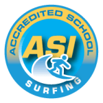 ASI Accredited Surf School Logo