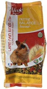 Aime Nourriture Nutri'Balance Savour Mix Jeune Lapin 900 G pour Petits Animaux – Lot de 4
