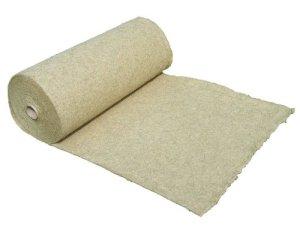 pemmiproducts Tapis 100% chanvre, mètre, épaisseur 0,40m x 10,00m x 0,5cm (EUR 6,48/M²), les rongeurs Tapis en tant que pour lapins, cochons d'Inde, Hamster, fond de cage Dègue, rats et d'autres rongeurs.