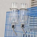 Yeshi Petit Animal Bouteille d'eau Lapin Cochon d'Inde Hamster Fontaine à eau potable Bol Bouteille Mangeoire