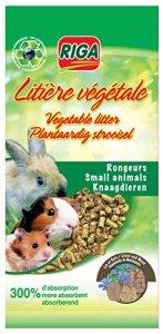Riga – 24423 – Litière Végétale Rongeurs en Granules – Sac de 2,2 kg