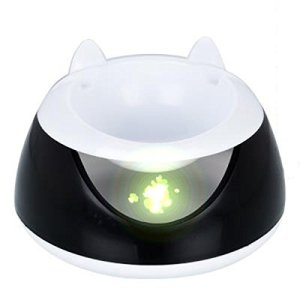 PLHF Pet Intelligent Circulation automatique Fontaine à boire Chats Chiens Distributeur d'eau Lapin Animal Alimentation d'eau, black