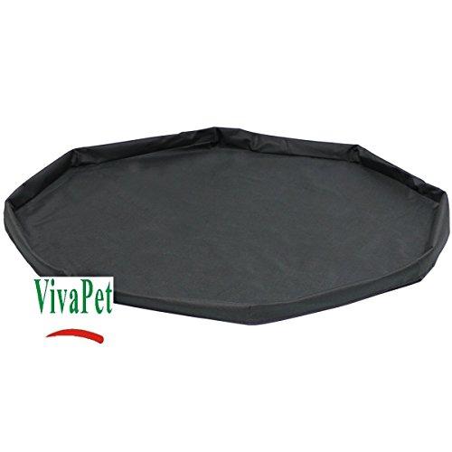 VivaPet Cage pour Petit Lapin/Cochon D'Inde étanche Tapis de Sol, Sol Base (8pans, 86,4cm)