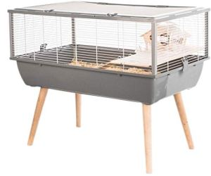 Cage Neo Nigha Petit Rongeur L 77.5 X P 47.5 X H 64.5 Cm Grise