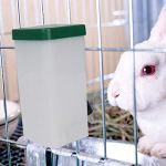 Abreuvoir Biberon Bouteille Distributeur,Abreuvoir À Suspendre pour Lapin De Compagnie, Hamster, Lapin, Furet, Etc