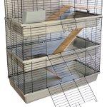 Petgard Grenada 100 Sky Cage pour lapin et cochon d'Inde à 3 étages