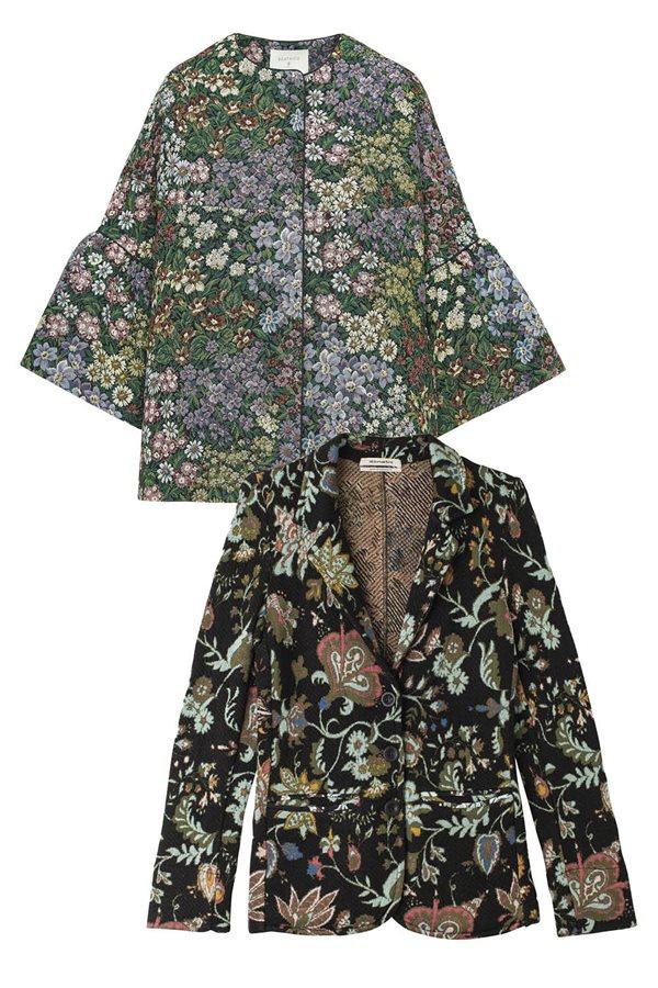 Resultado de imagen de chaqueta estampado tapiceria