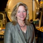 """Ellen Stofan (10409828915)"" by NASA Goddard Space Flight Center from USA - Dr. Ellen Stofan, Chief Scientist, National Aeronautics and Space Administration at National Air and Space Museum Event - Close Encounters of the Planetary MindsUploaded by Magnus Manske. Licensed under CC BY 2.0 via Wikimedia Commons - https://commons.wikimedia.org/wiki/File:Ellen_Stofan_(10409828915).jpg#/media/File:Ellen_Stofan_(10409828915).jpg"