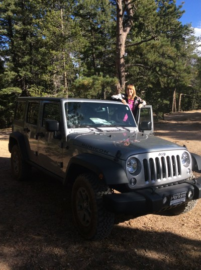 jeep and me