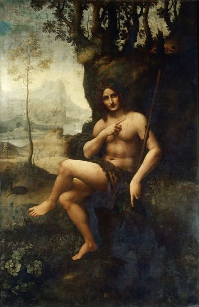 de Vinci's Bacchus