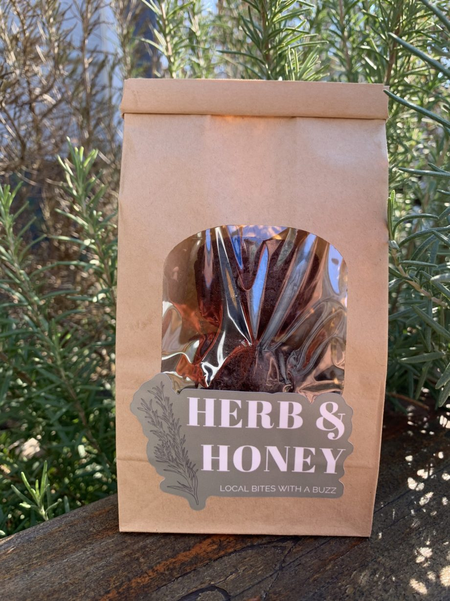 herb and honey cbd brownies