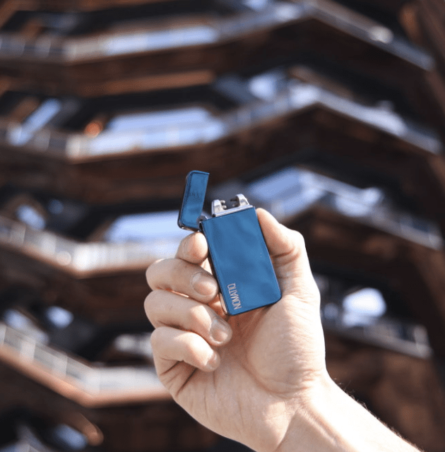 Blue Dual Arc Lighter