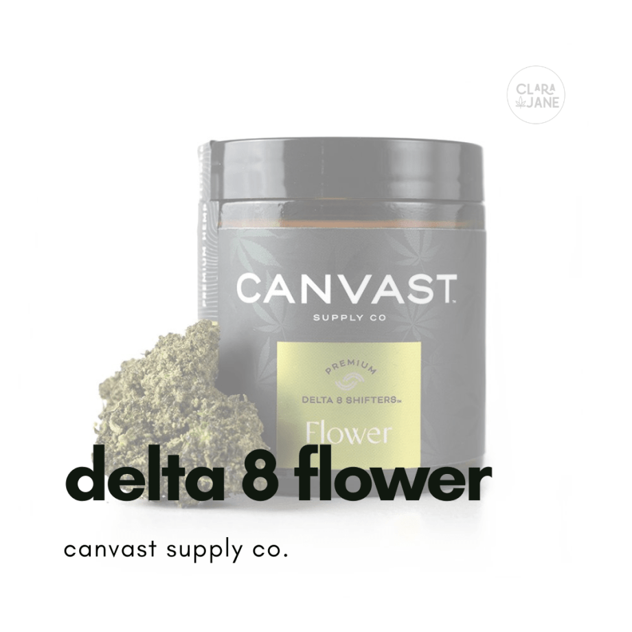 Canvast Solventless Delta-8 THC Sour Space Candy Flower